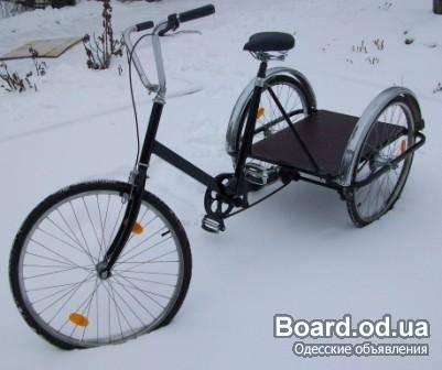 Велосипеды грузовые трехколесные своими руками