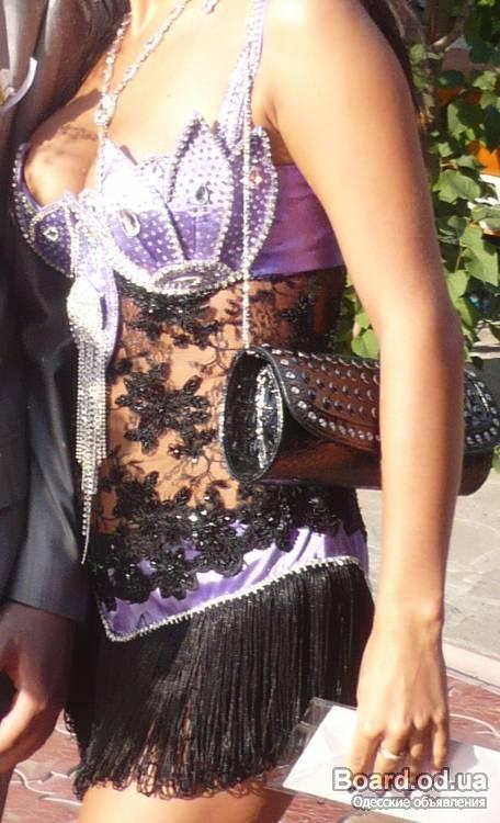 эксклюзивное платье на выпускной вечер.