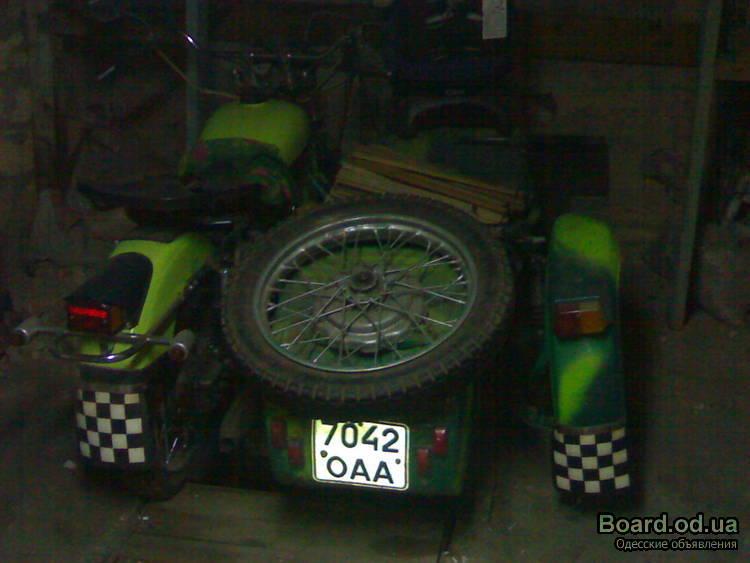 мотоцикл хонда с коляской #10