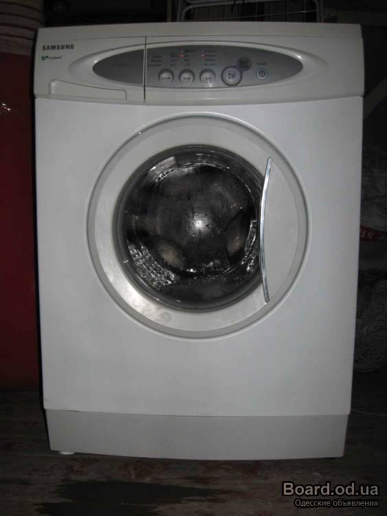 стиральную машину SAMSUNG S821.