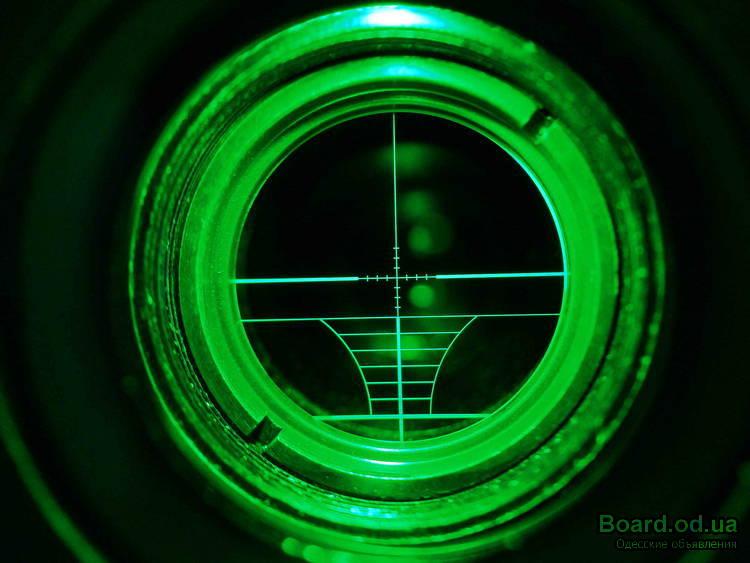 Как сделать подсветку на оптический прицел
