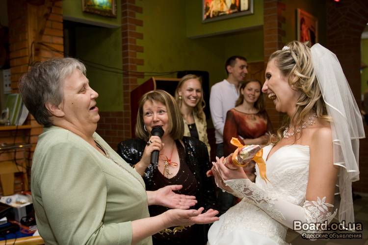 Конкурс на свадьбу без пошлостей
