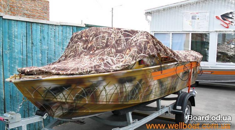 покраска лодок своими руками фото
