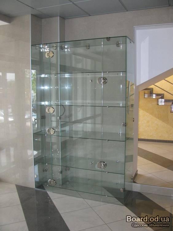 Шкаф из стекла
