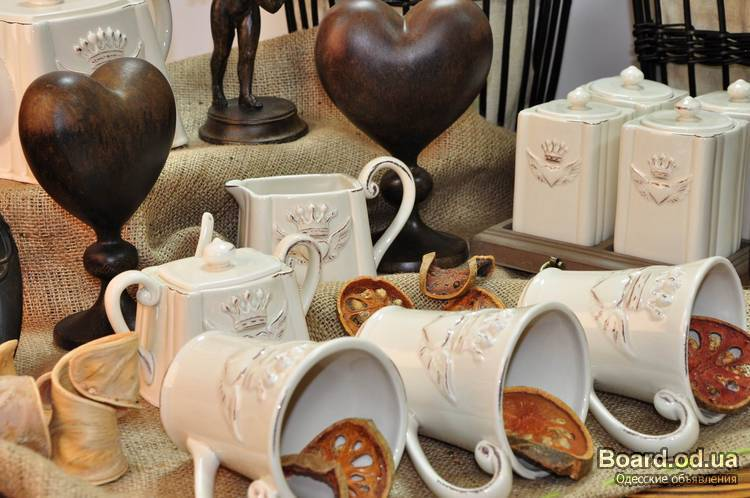 Посуда и сувениры подарки 418