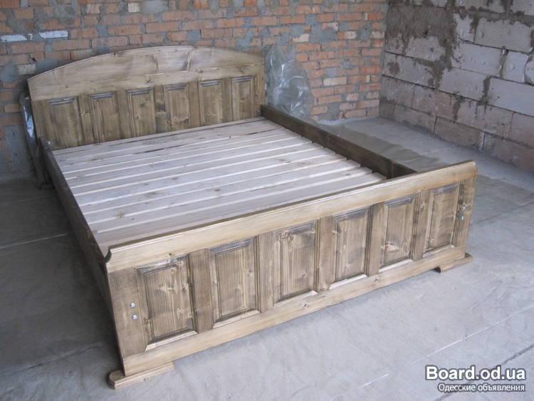 Сделать своими руками 2 х спальную кровать
