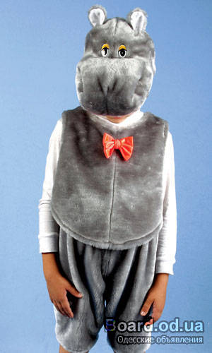 Неуклюжий бегемот - Костюм в виде животного попробуем сшить и его необычностью всех удивить - Форум-Град
