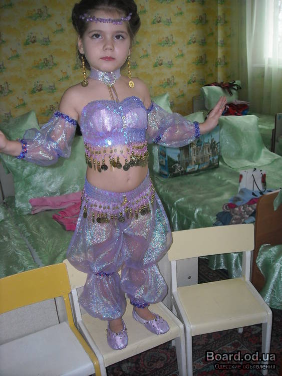 Восточный костюм для девочки своими руками мастер класс