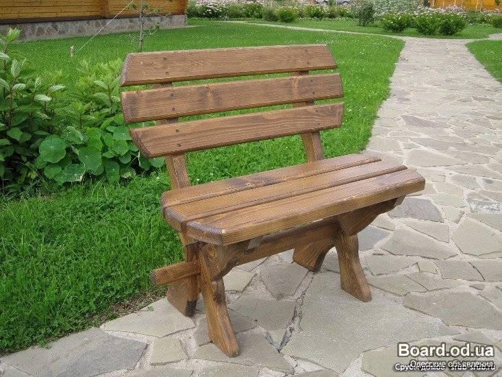 Мебель в саду своими руками - Поделки