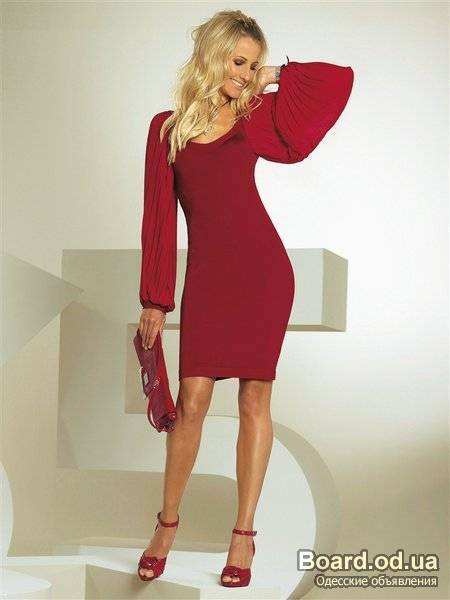 Купить красивое классическое платье 5