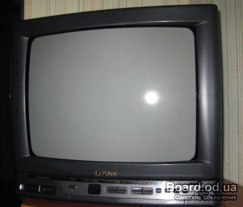 Цветной телевизор 34см Funai TV-1400A MK8, Япония, пульт.