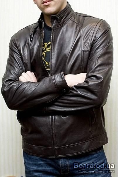 Купить Мужскую Кожаную Куртку Фаби