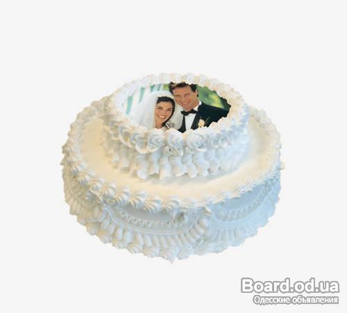 Печать фото на торте донецк