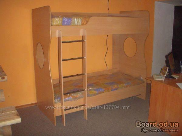 Двухъярусная кровать своими руками из дсп фото