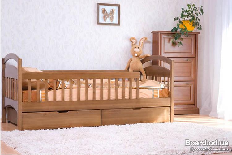 """Вот класная кроватка, заказать можно в нашем интернет магазине, адрес в личке.  """"изготовлена из масива натурального..."""