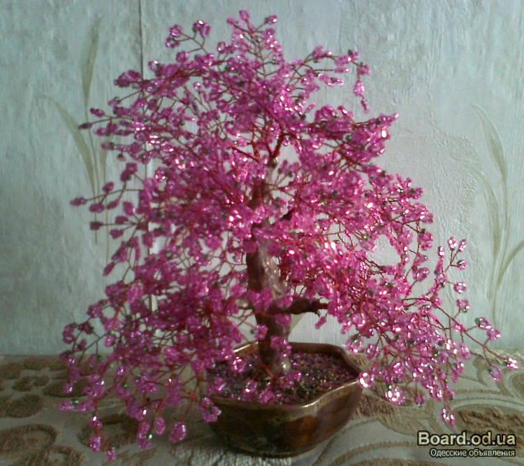 декоративные деревья ручной работы.