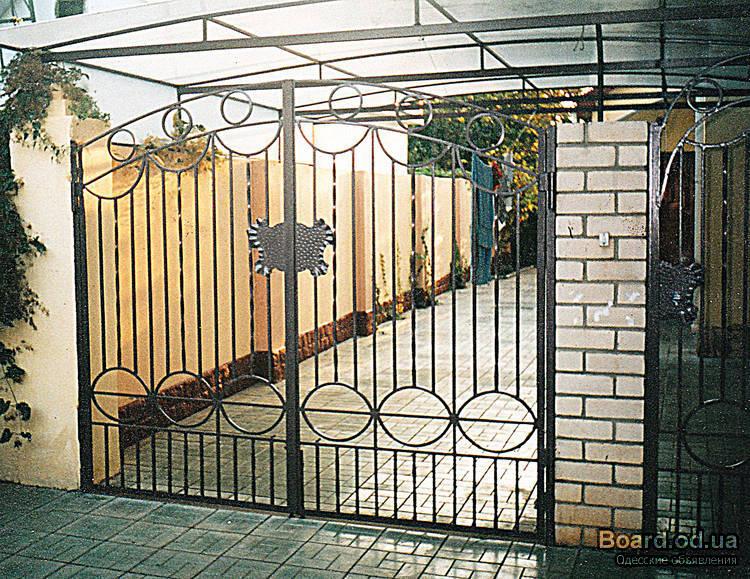 производство металлические ворота двери