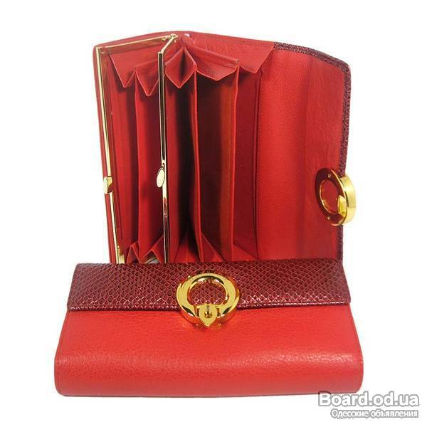 Чем почистить красный кожаный кошелек в домашних  922