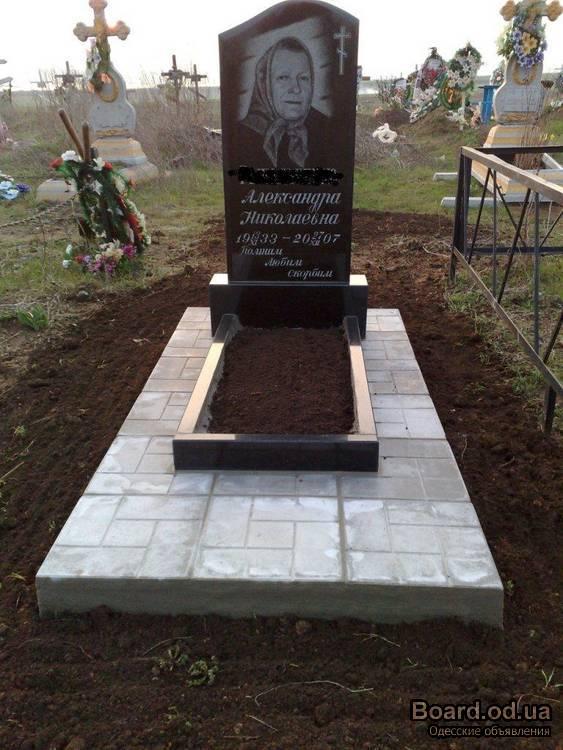 Как изготовить надгробный памятник своими руками