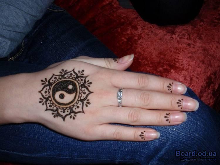 Татуировки хной для девушек в домашних условиях