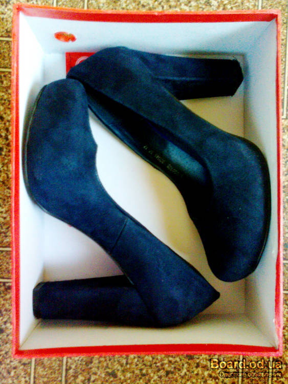 Темно Синие Туфли
