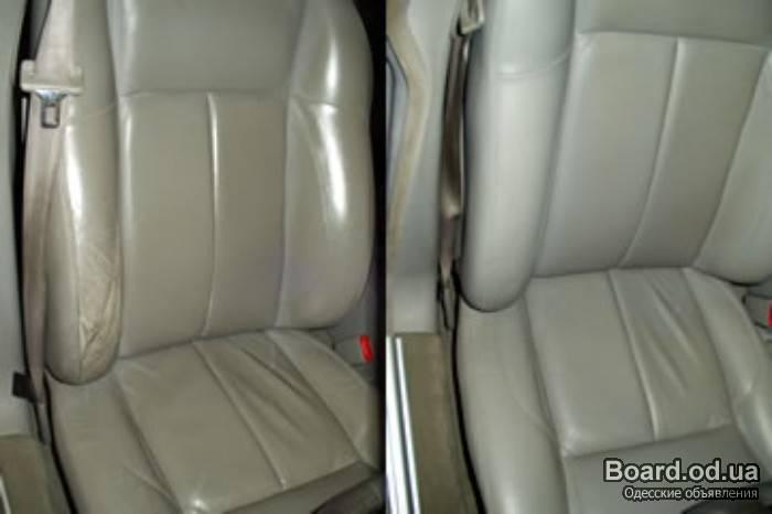 Как восстановить кожаный салон автомобиля своими руками