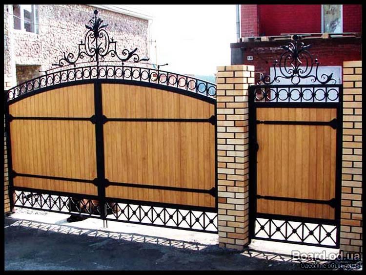 Сварные ворота самоучитель электропривод ворот 12в