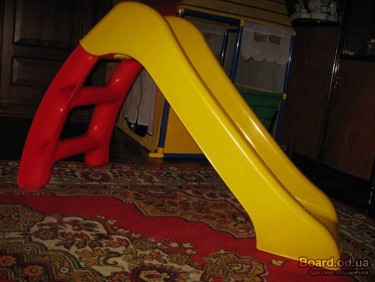 Детская домашняя горка