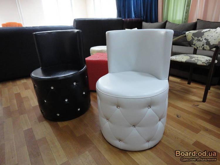 Круглые стулья со спинкой своими руками