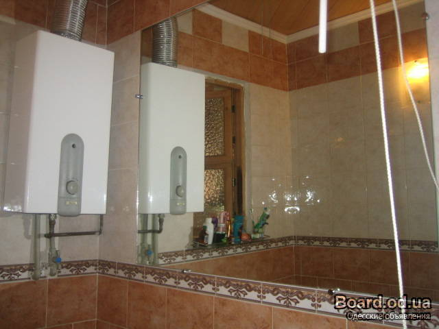 Дизайн газовой колонки в ванной комнате