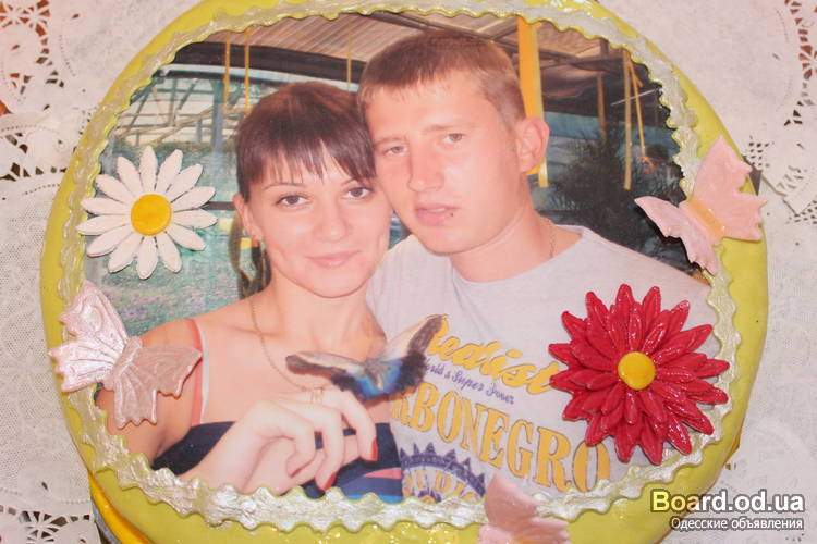 Торт на заказ фото портрет