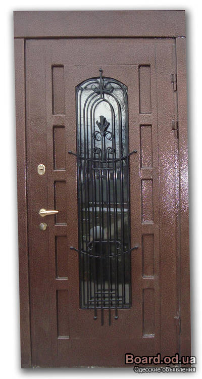 металлические входные двери из метала
