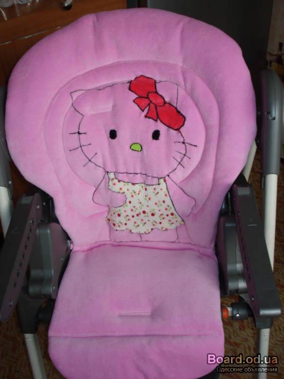 Чехол на детский стульчик для кормления своими руками 7