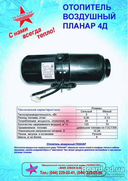 ПЛАНАР 4Д-24(12) - автономный