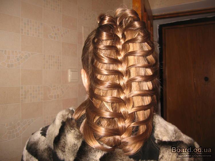 Оригинальные прически с косами как заплетать