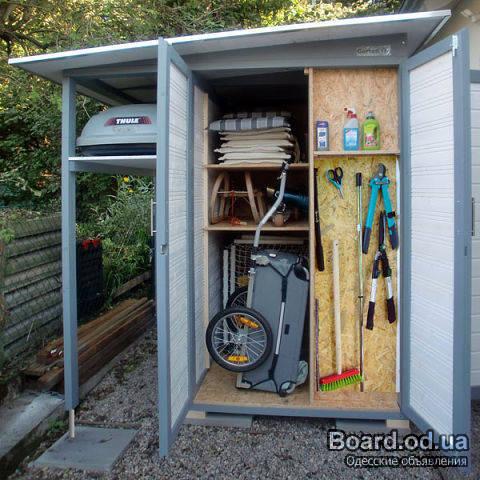 Шкаф для садового инструмента своими руками 26