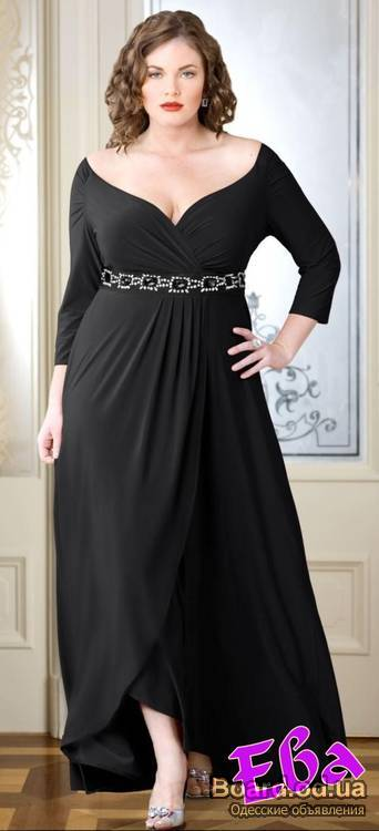 Платье своими руками для толстых