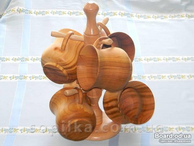 Как сделать из дерева чашку