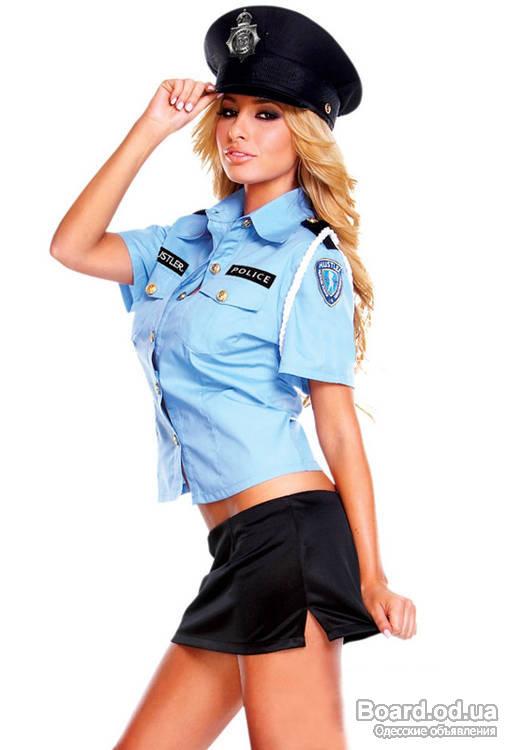 Костюм полицейского своими руками для девушки