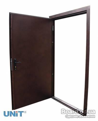 двери противоударные металлические входные