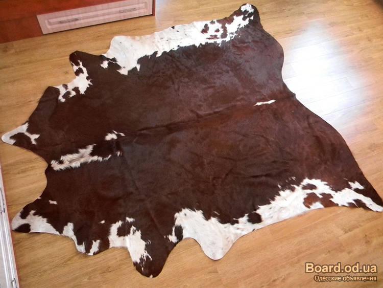 Видео подробная обработка шкур крс на коврики