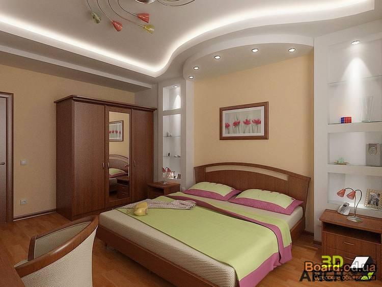Дизайн для спальни 16 кв.м