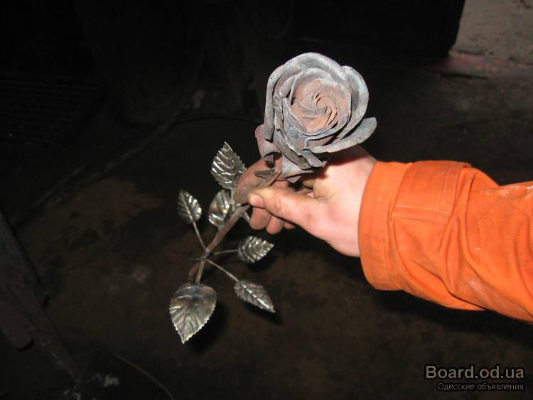 Как сделать кованную розу своими руками
